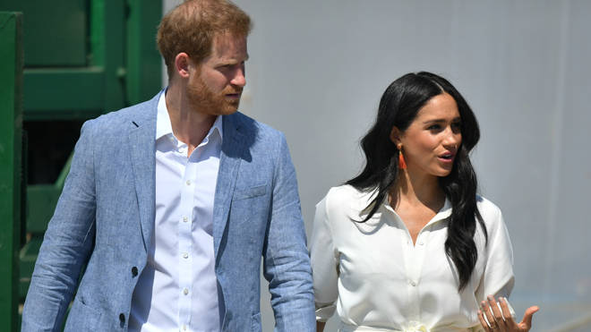 Harry and Meghan went on their tour of Africa last year