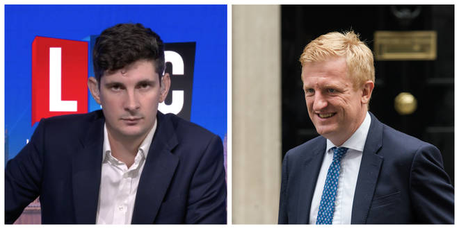 Tom Swarbrick spoke to Culture Secretary Oliver Dowden on Swarbrick on Sunday