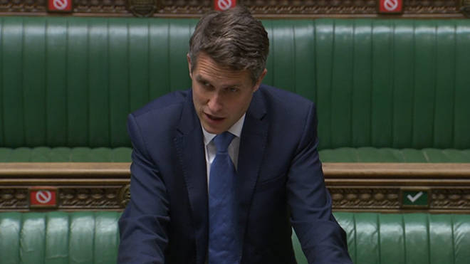 Gavin Williamson will speak in the Commons later today