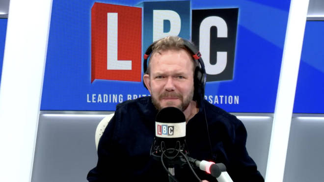 This was James O'Brien's lighthearted debate with a caller over the ease of understanding coronavirus measures