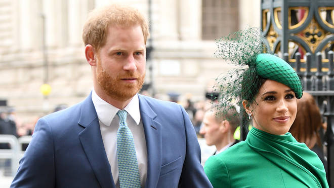 File photo: The Duke and Duchess of Sussex