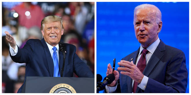 President Donald Trump and his Democratic challenger Joe Biden are gearing up for their first debate
