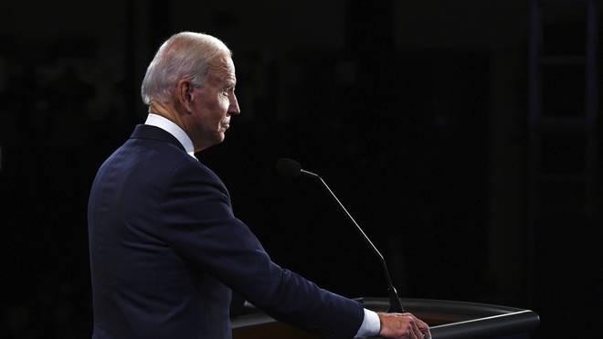 Democratic Joe Biden was critical of the President's comments