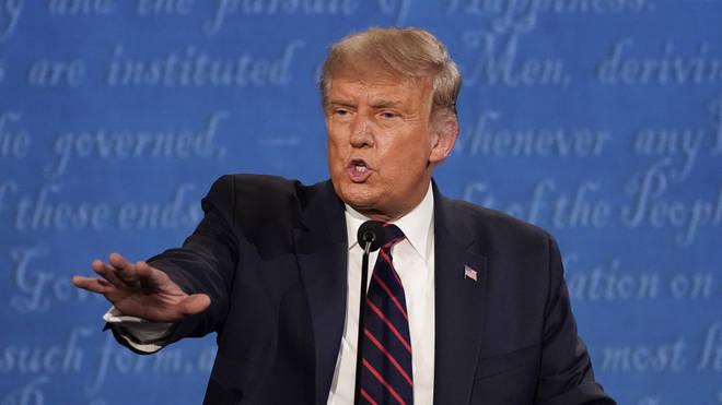Donald Trump went up against Joe Biden in a Presidential Debate