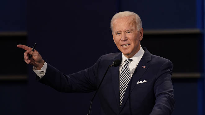 Joe Biden won the debate, pollsters have suggested