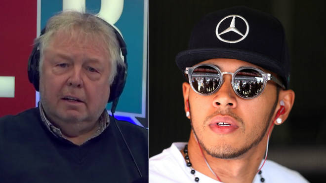 Nick Ferrari defended Lewis Hamilton over his tax dealings
