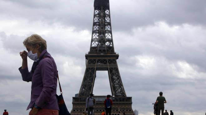The loud bang was heard across Paris