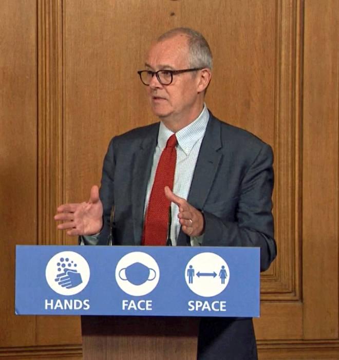 Sir Patrick Vallance offered a stark warning to the British public