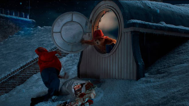 Paddington in the M&S Christmas advert