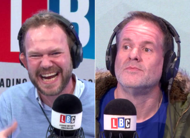 When Chris Moyles asked James O'Brien a Mystery Hour question