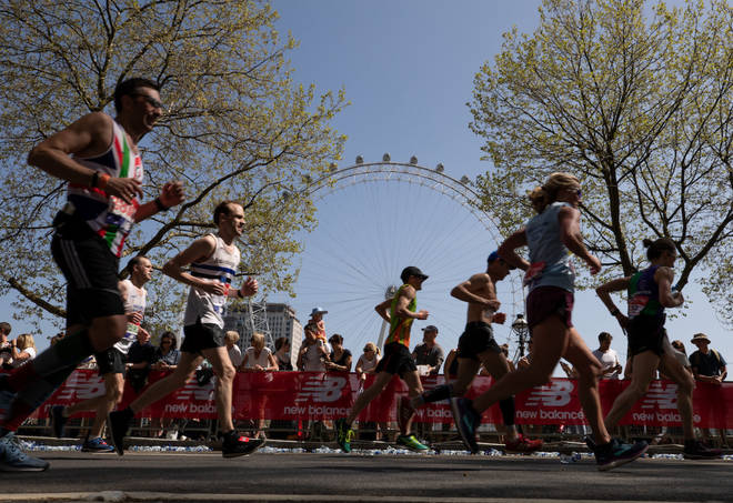 The London marathon will look different this year