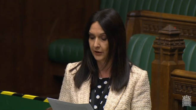 Margaret Ferrier was speaking in the Commons on Monday