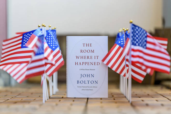 Ambassador John Bolton's White House memoir, The Room Where It Happened, details his 453 days working with Trump