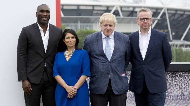 Priti Patel and Boris Johnson are still in their jobs