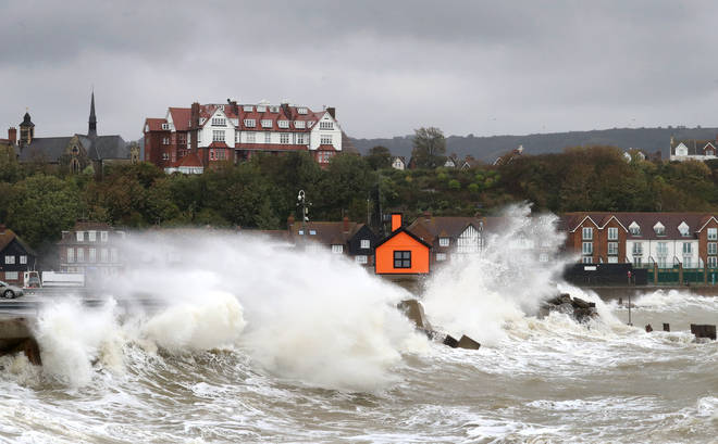 Storm Alex is lashing the UK