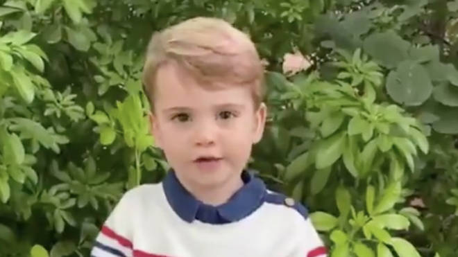 Prince Louis wanted to know what his favourite animal was