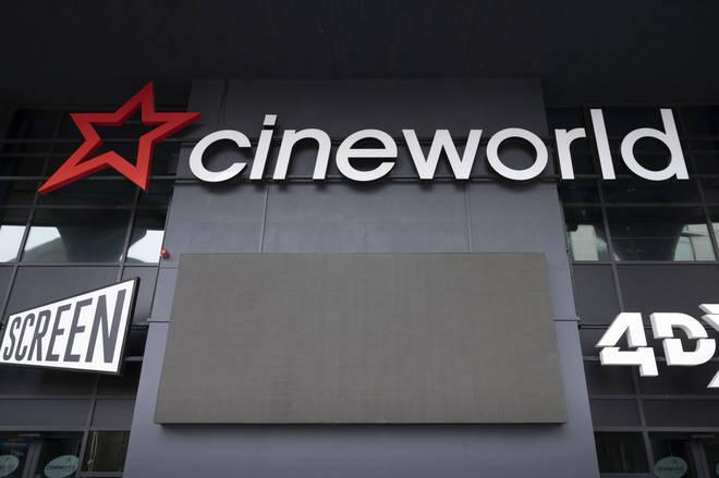 Cineworld closed during the coronavirus lockdown