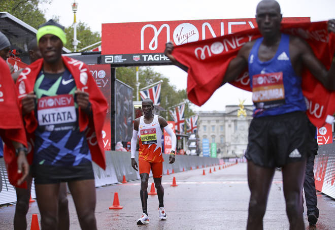 Kipchoge was left wanting after finishing eighth
