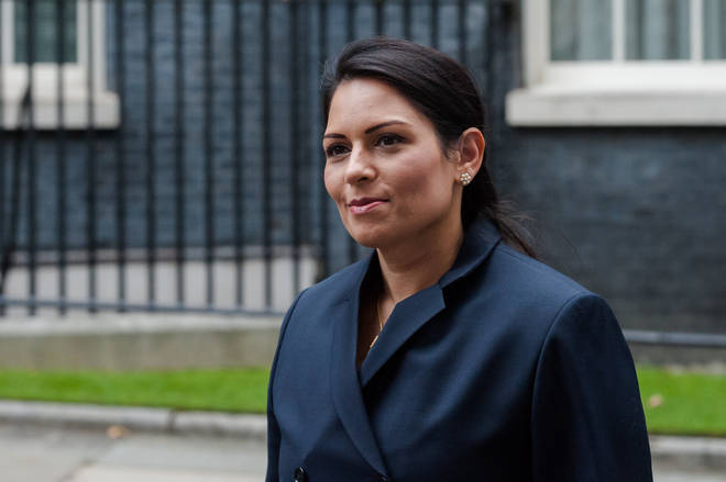 """Home Secretary Priti Patel said she """"will introduce a new system that is firm and fair"""""""