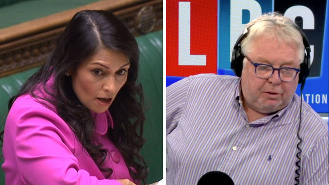 The former Border Agency chief told Nick Ferrari the ways in which Priti Patel would need to fix the system's loopholes