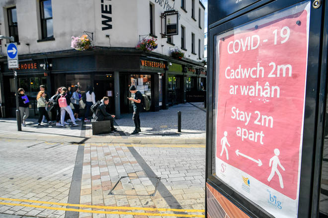 "Wales is ""actively considering"" imposing restrictions on people visiting from Covid hotspots in the rest of the UK"