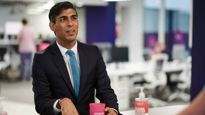 Rishi Sunak yesterday warned difficult choices would have to be made to save the economy