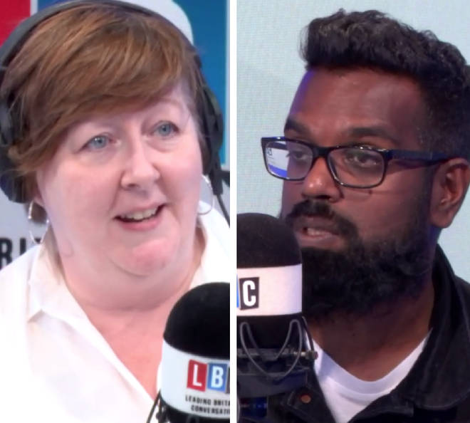Romesh Ranganathan was live on LBC on Thursday