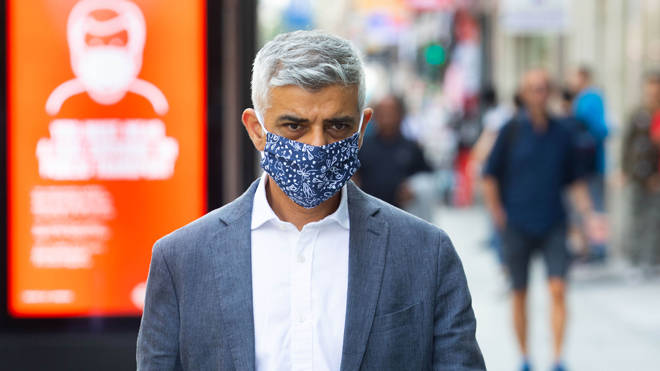 Sadiq Khan issued a warning to Londoners today