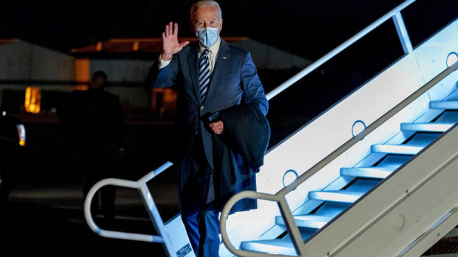 Joe Biden urged caution over holding the next US presidential debate