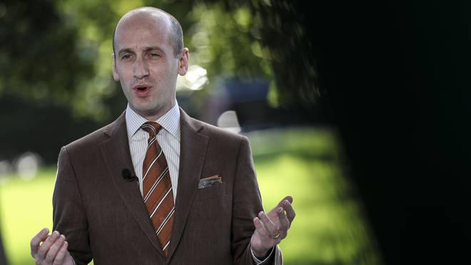 Senior White House adviser Stephen Miller tested positive for the virus
