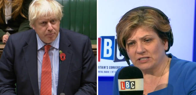 Boris Johnson Emily Thornberry