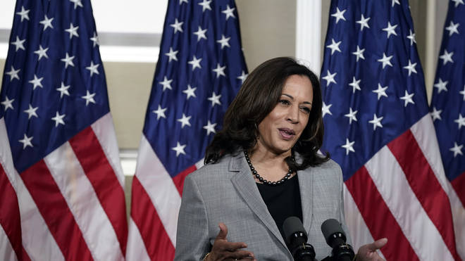 Ms Harris will be hoping to win over voters to vote for her on Joe Biden's ticket