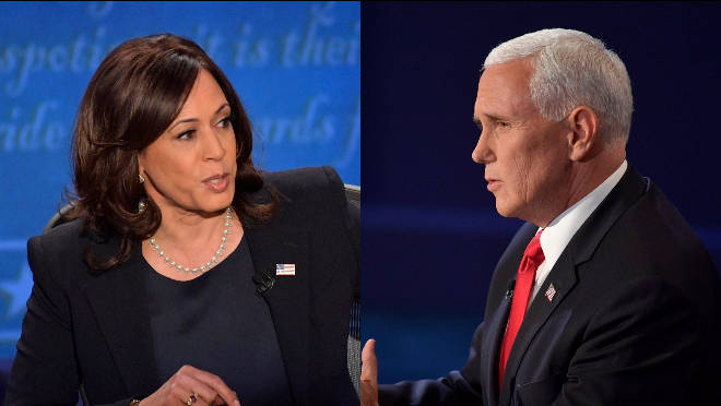 Kamala Harris and Mike Pence faced off in the 2020 vice presidential debate
