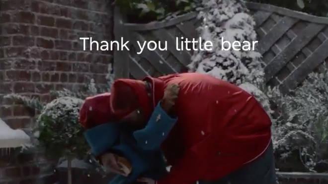 """""""Thank you little bear"""""""