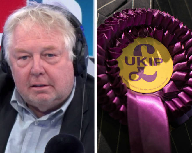 "Nick Ferrari described the incident as ""outrageous"""