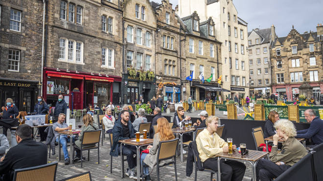 Scotland faces new hospitality rules from 6pm tonight