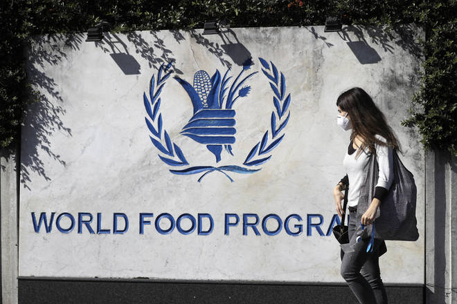 The WFP won the 2020 prize for its continued efforts to combat world hunger