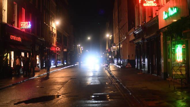 Nightclubs on a street