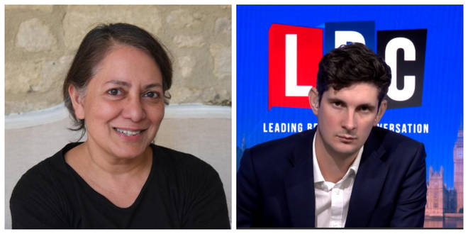 Professor Sunetra Gupta spoke on LBC's Swarbrick on Sunday