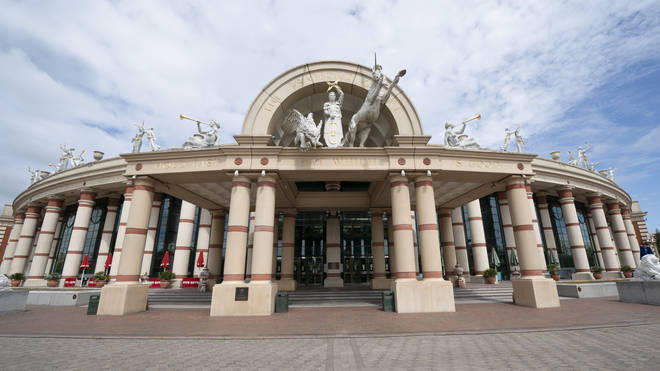 Manchester's Trafford Centre saw large crowds over the weekend