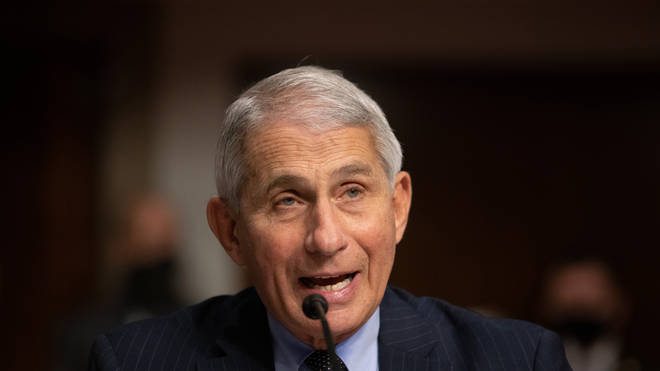 Dr Fauci said his comments were made in relation to a team of experts and their efforts
