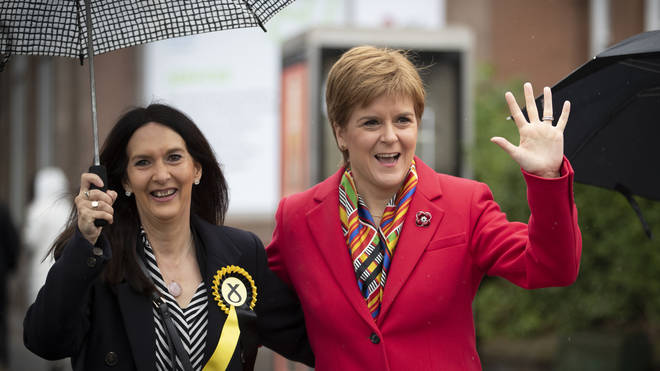 SNP leader Nicola Sturgeon has repeated her call for Ferrier to quit for repeatedly breaching coronavirus rules by travelling after developing symptoms