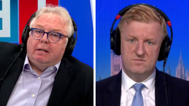 Culture Secretary Oliver Dowden refused to rule out a second national lockdown during an LBC interview