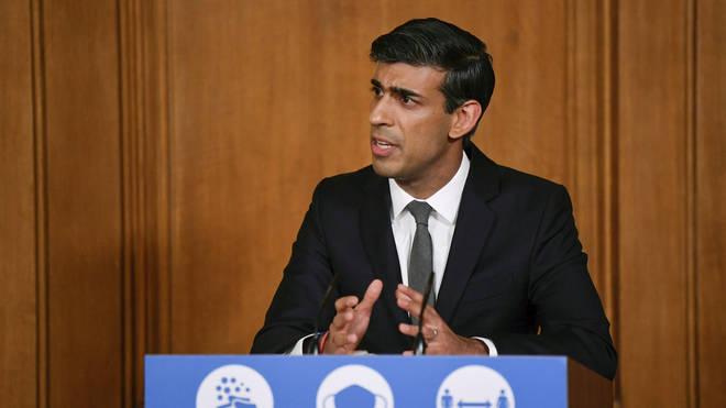 "Rishi Sunak has said the Government needs to ""rebuild"" public finances"