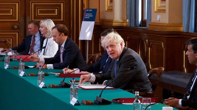 Boris Johnson has frozen ministerial salaries