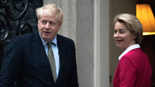 Boris Johnson has expressed disappointment over the progress of talks with the EU