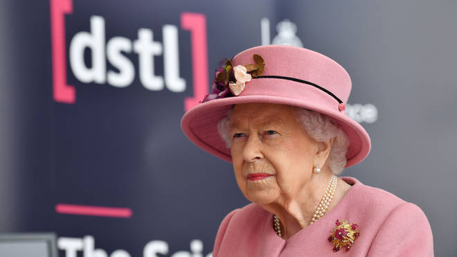 Strict measures were in place for the Queen's outing