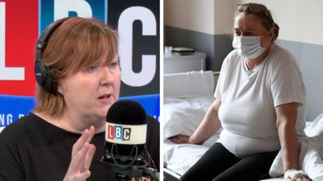 Crying cancer patient fears Covid rules will prevent her getting treatment