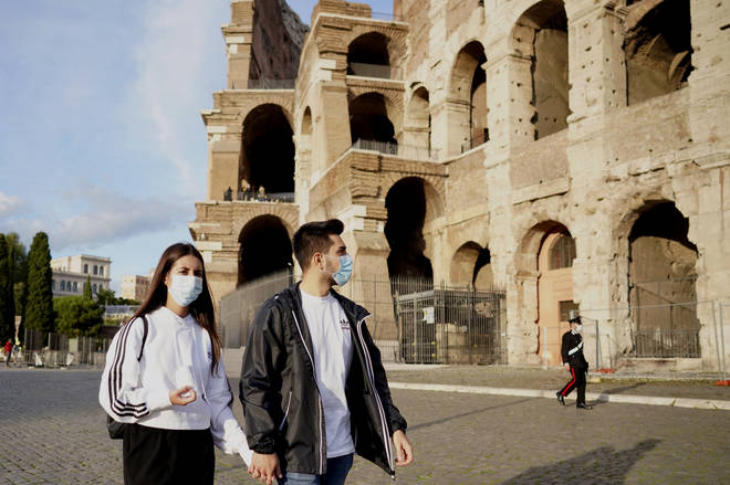 Italy recently introduced strict new coronavirus restrictions