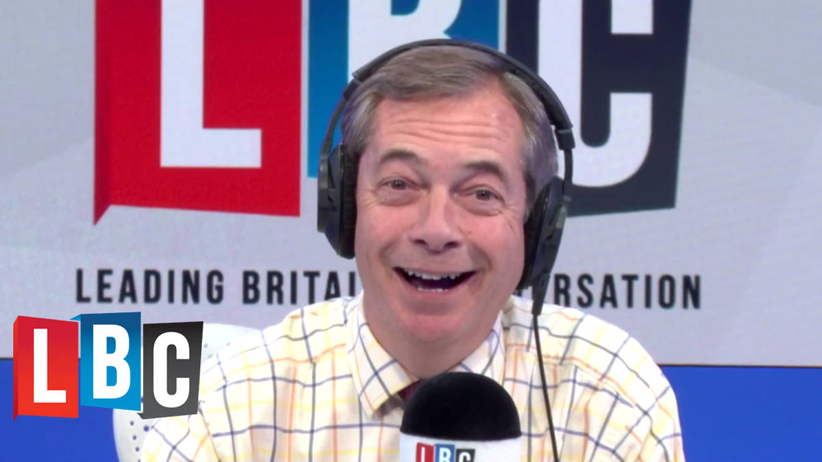 """The Extraordinary Call Between 15-Year-Old And Her """"Political Hero"""" Nigel Farage"""